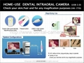 HK-770 HOME-USE DENTAL INTRAORAL CAMERA USB Connection(NEW)