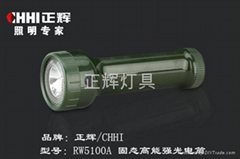 固态高能强光电筒