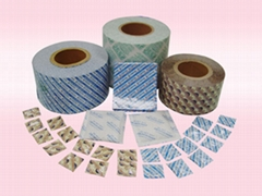 Deoxidizer and Desiccant Packaging Material