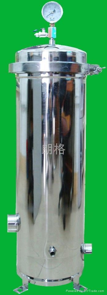 饮料油脂电子油漆化工汽车电泳线路板废污水不锈钢滤芯过滤器(机 1