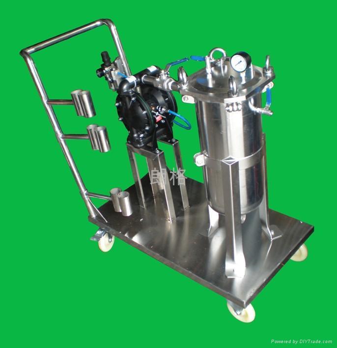 饮料油脂电子油漆化工汽车电泳线路板废污水不锈钢滤芯过滤器(机 2