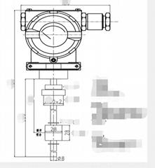 CNG压缩机用的温度浮球液位计SBW05