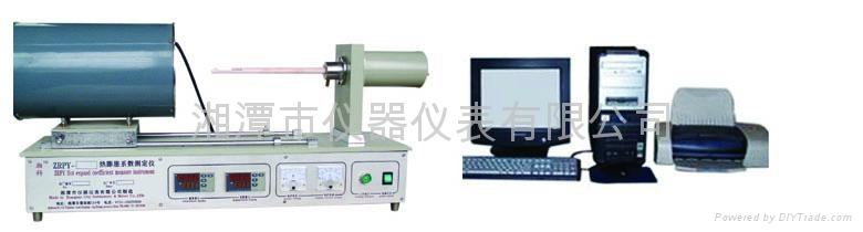 thermal expansion coefficient testing machine    1