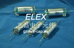 引線式高壓聚苯乙烯電容器