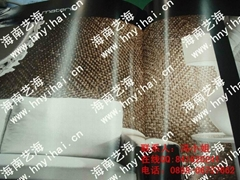 Natural environmental protection decoration material coconut shell mosaic