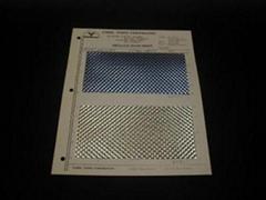 Metallic Rigid Sheet with Self-Adhesive