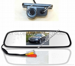 4.3 Inch Rear View Parking Sensor System with night vision camera(XY-8036)