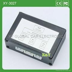 2路车载前后摄像头控制盒(XY-3027)