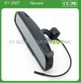 1080P Full HD 4.3inch rear view mirror car mirror dvr driving recorder XY-2507