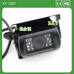 12V~24V通用防水大巴專用彩色夜視汽車攝像頭