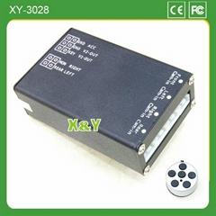 四路全视野泊车摄像头控制盒(XY-3028)