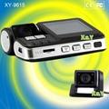 Front/Rear dual lens HD car dvr camera driving recorder 720P(XY-9615)