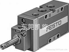 FESTO电磁阀 MFH-5-1/4-B