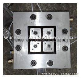 WPC (wood plastic composite) PILLAR POST COLUMN EXTRUSION MOLDS 2