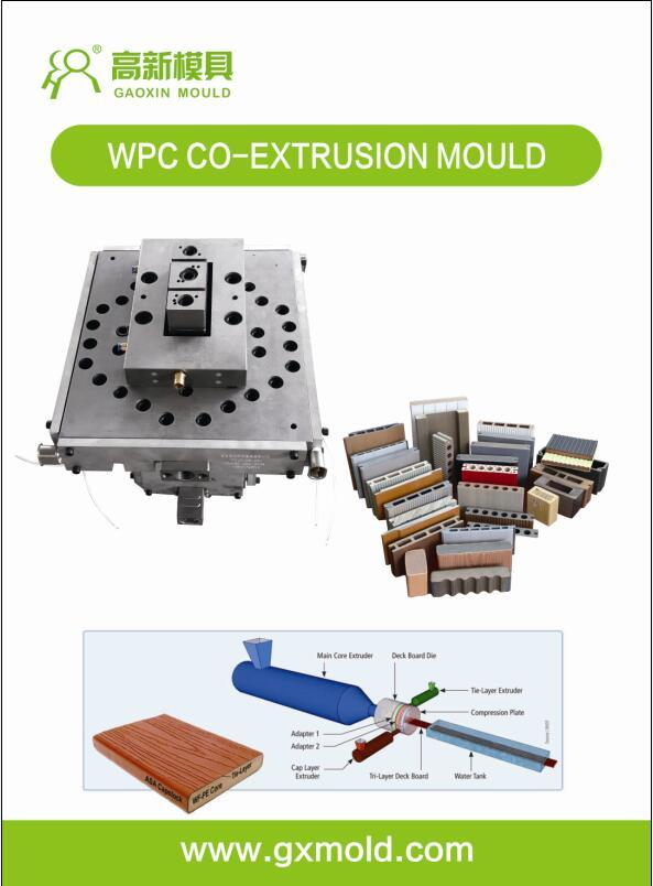 capped WPC composite decking mold 3