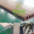 capped WPC composite decking mold