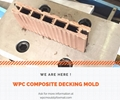 wpc decking mold