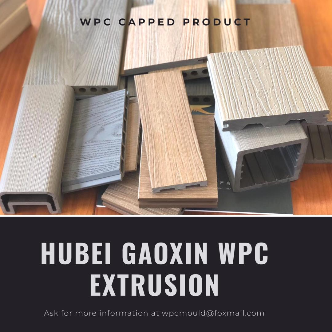 capped PVC decking mold 2