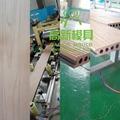 Preminum deck board mold