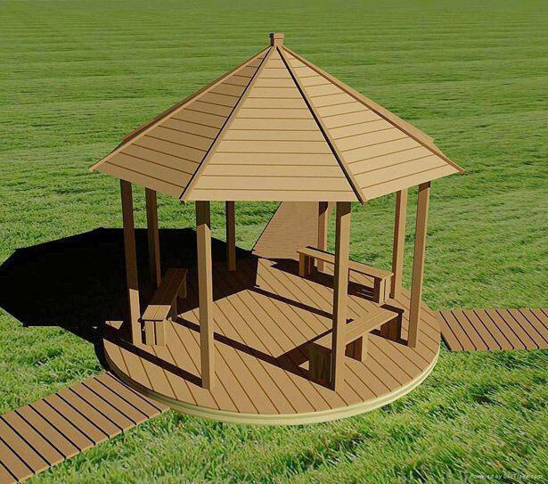 木塑立柱方柱模具 4
