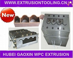 WPC tile moulds dies for extrusion cheap price high quality