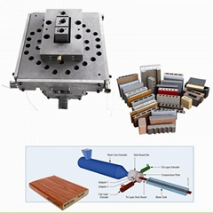 hot sale wpc coextrusion decking extrusion mould