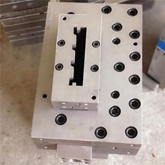 second-hand WPC extrusion mould 150*25 second hand extrusion mould profile
