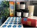 UV商標圖案貼花感壓油墨擦壓油墨 3
