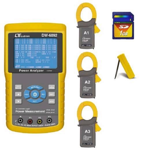 3 PHASE POWER ANALYZER 1