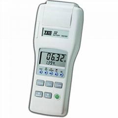 Tes-32A Battery Capacity Tester  with RS-232 software