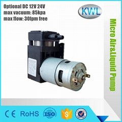 80kpa mini vacuum pump f
