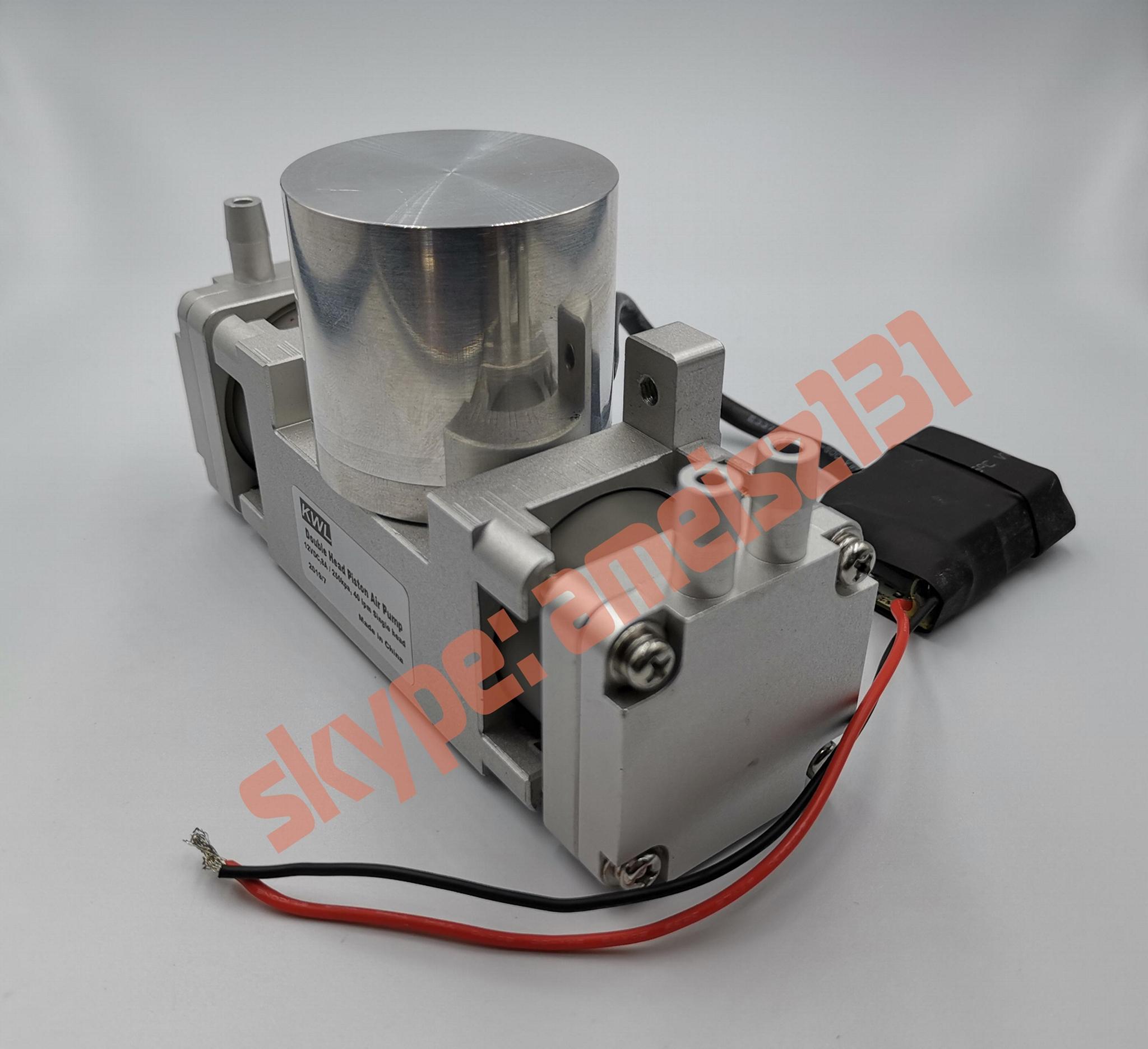 8 bar high pressure -90 big vacuum rate double air pump 3