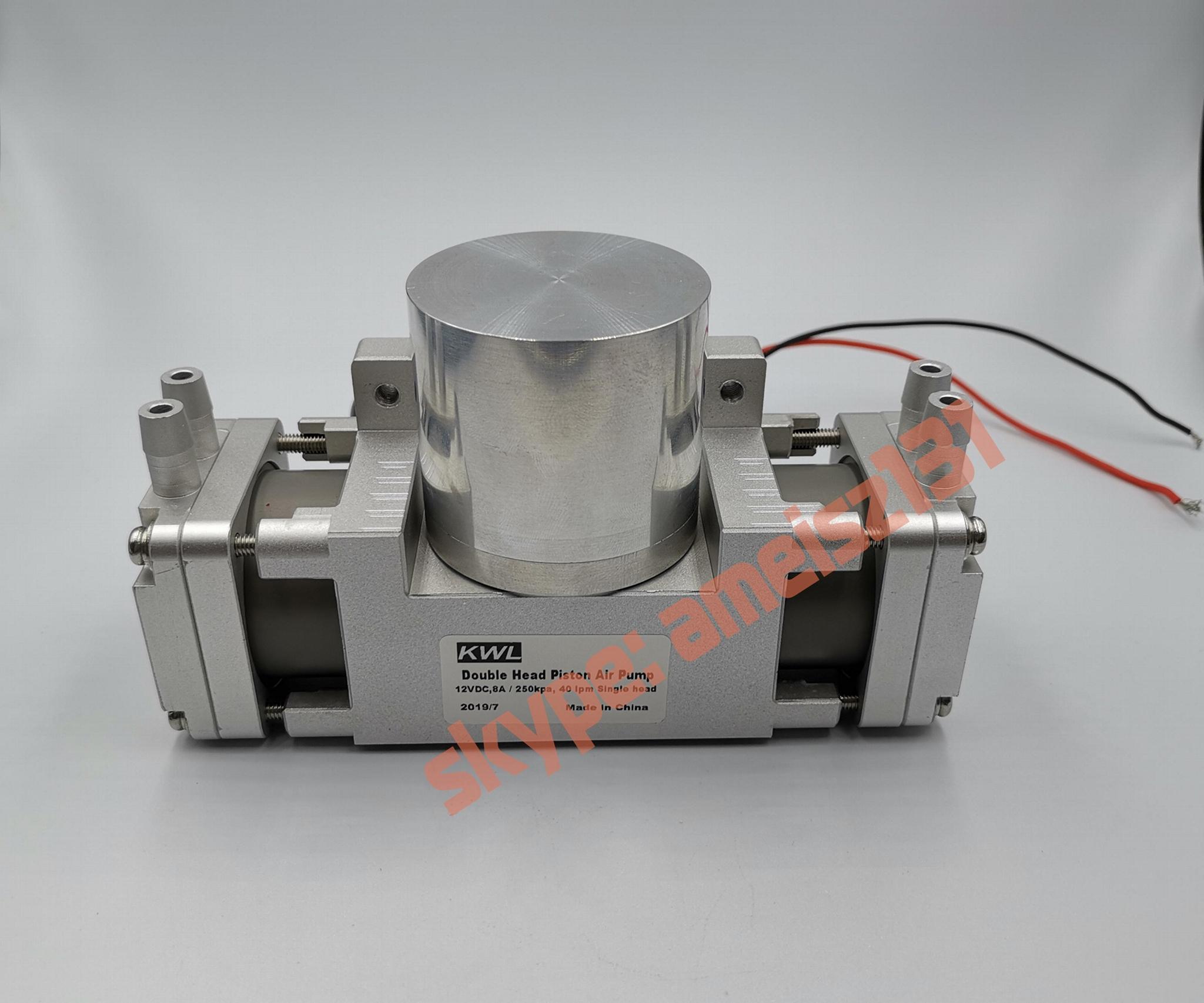 8 bar high pressure -90 big vacuum rate double air pump 4
