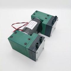 TWIN head oilless vacuum pump