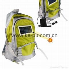 太阳能背包