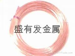 供應無鉛H90環保紫銅線