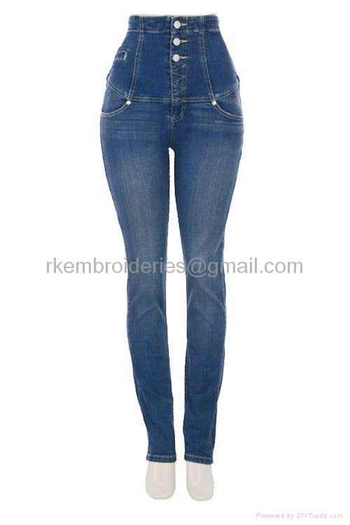 High Waist ladies jeans - RK 100 (India Manufacturer) - Jeans