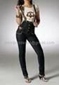 High Waist ladies jeans 3