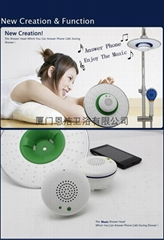 Music and Phone Shower Head