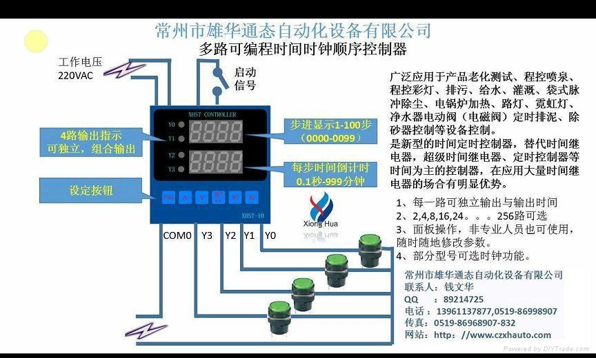循环往复时间控制器 5