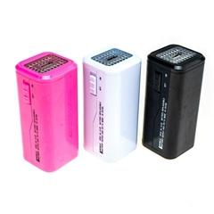 移动电源4节5号电池型应急充电器 带LED微照明灯