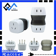 multiple universal usb travel adapter MW-007