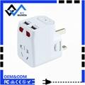 usb international travel adaptor with
