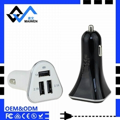 5.2A Car Charger with Intelligent identification voltage IC