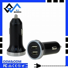 2.4A Fireproof Car Charger ,MV-R08