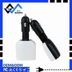 3.4A Car Charger with LED Light