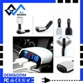 3.4A Car Charger with LED Light 2