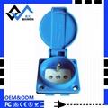 waterproof hot sale EU wall socket