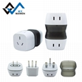 Multiple universal usb travel adapter