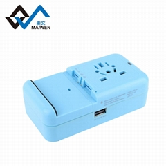 Universal plug adapter with CE Rohs Fcc